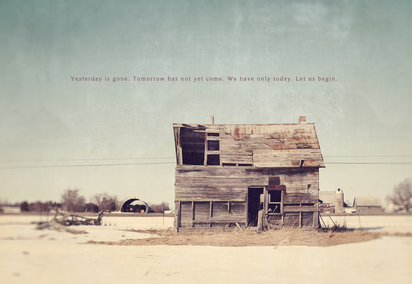 old barn house with vintage love. print available at chapters indigo canada.