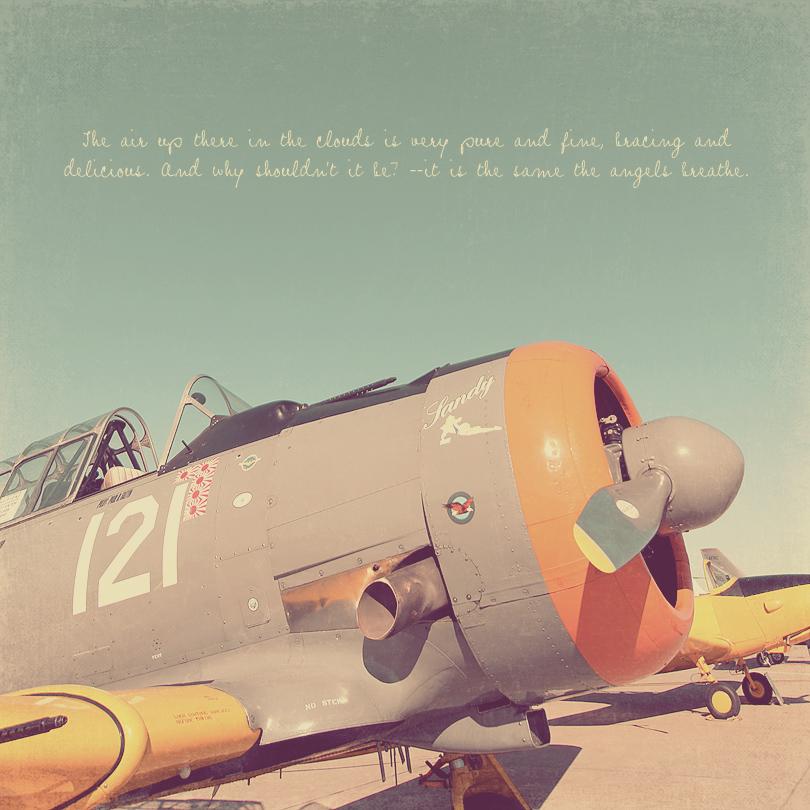 aviation art, airplane photo, propeller plane, airplane print
