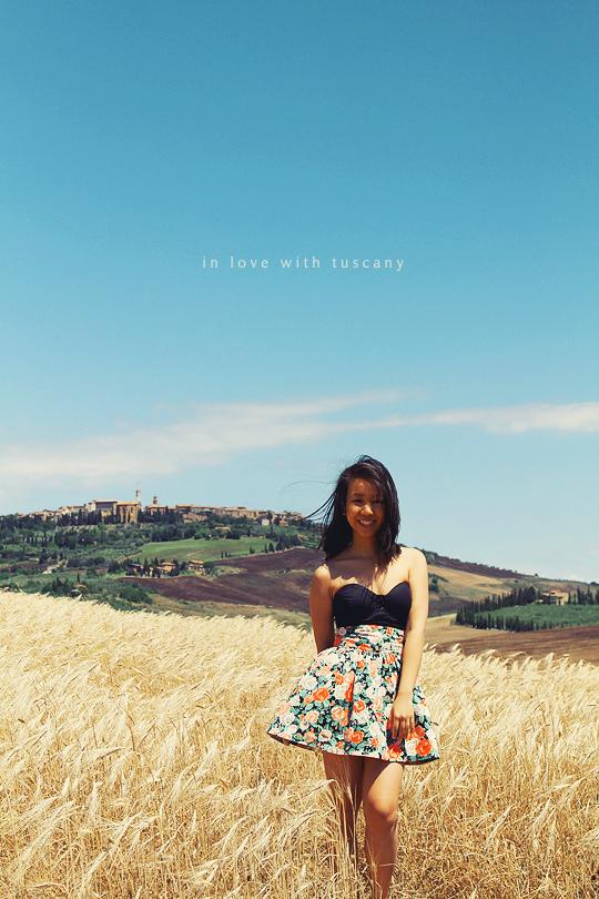 Tuscany travel, val d'orcia tuscany