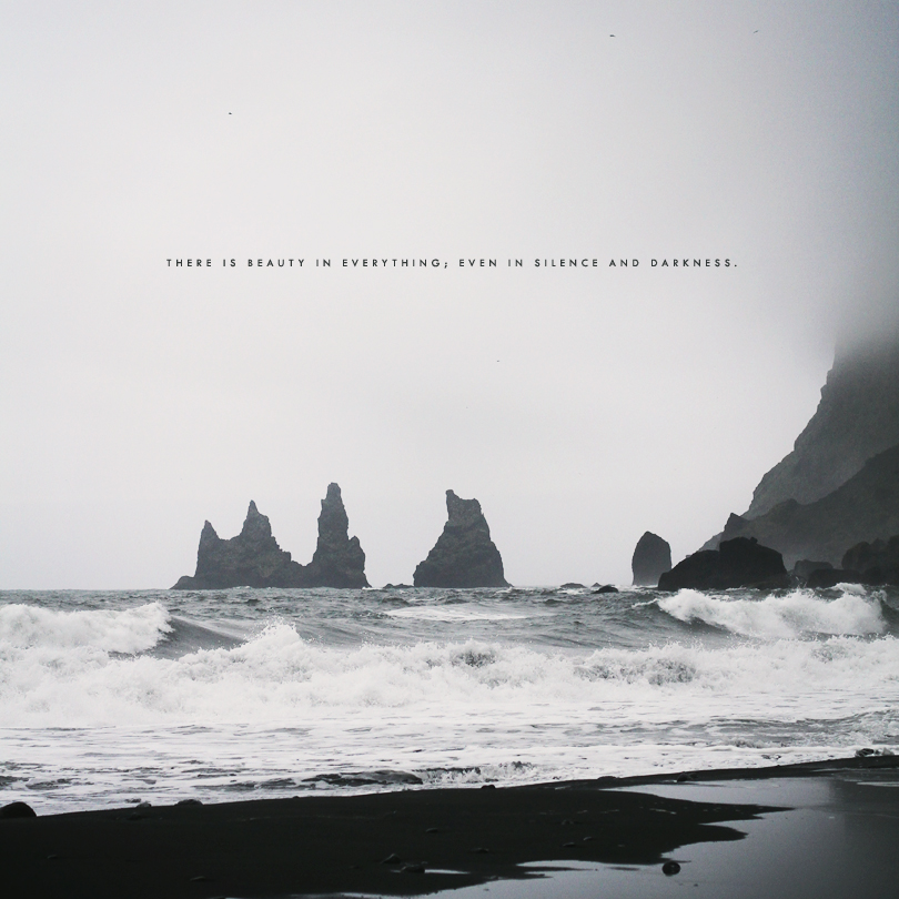 reynisdrangar, black sand beach, iceland photography