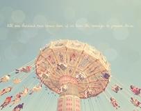 Pastel Swing Ride