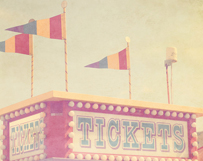 Pink Ticket Booth