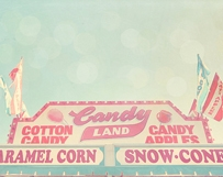 Pink Candy Stand