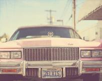 Pink Elvis Cadillac