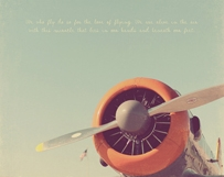 Orange Propeller