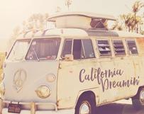 1960s Hippy Van