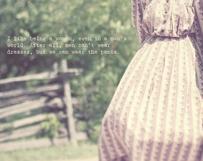 1800s Dress