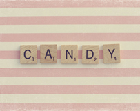 Candy Scrabble
