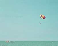 Parasailing on Lake Huron