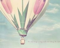 Pink Tulip Balloon