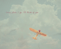 Yellow Red Plane
