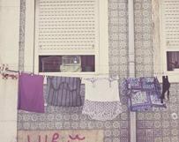 Lavender Clothesline