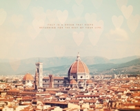 Dreaming in Florence