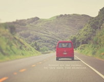 Red Travel Van