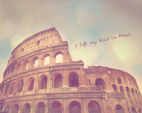 My Heart's in Rome
